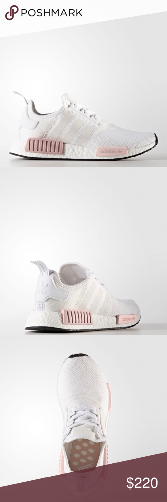 Adidas nmd white lcey rosa adidas nmd bianco e lcey donna rosa