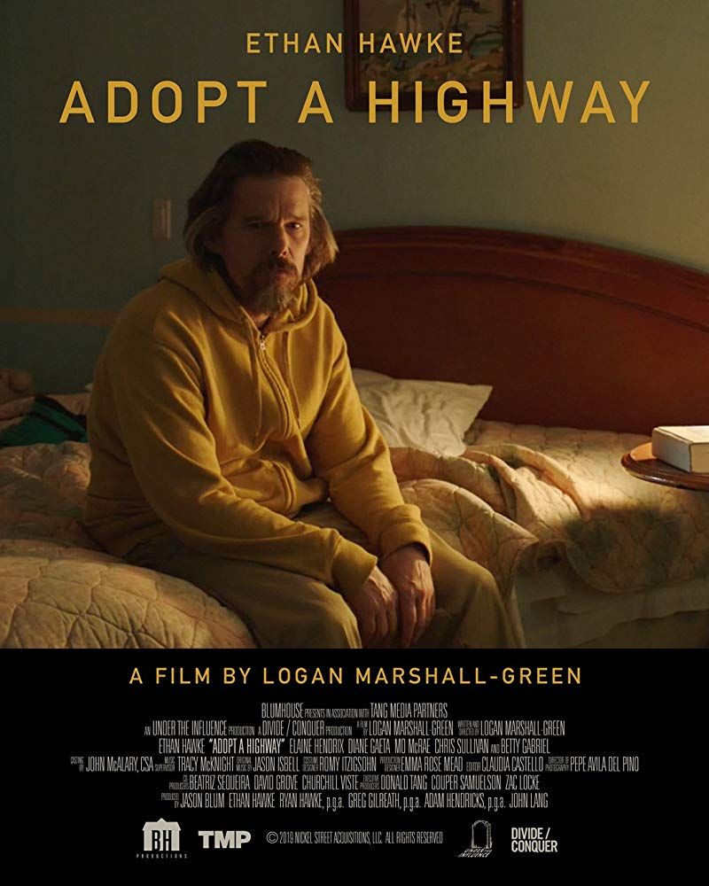 First poster for drama adopt a highway starring ethan