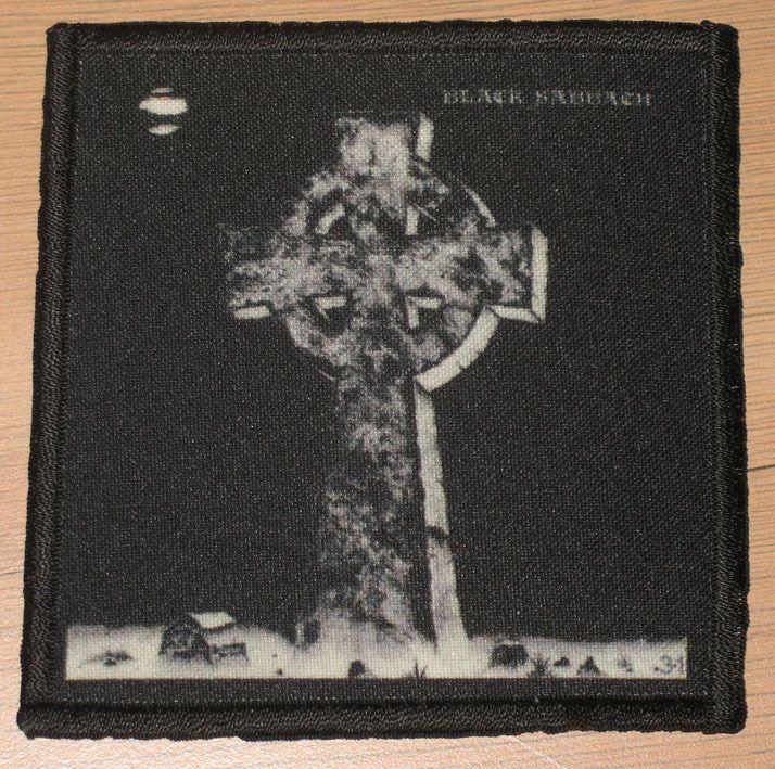 Black Sabbath Patch Cross Metal Rock Band