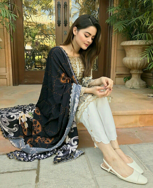Minal Khan Pakistani Fashion Casual Latest Pakistani Dresses Pakistani Dress Design