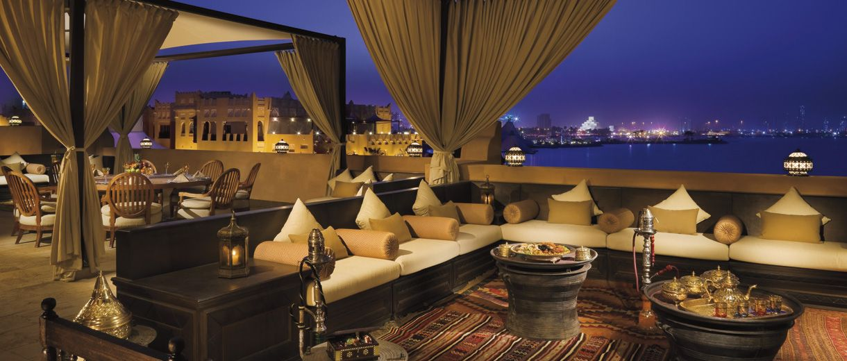 In Doha, Luxury living reaches apex with The Royal Villa at Sharq - modernes design spa hotel