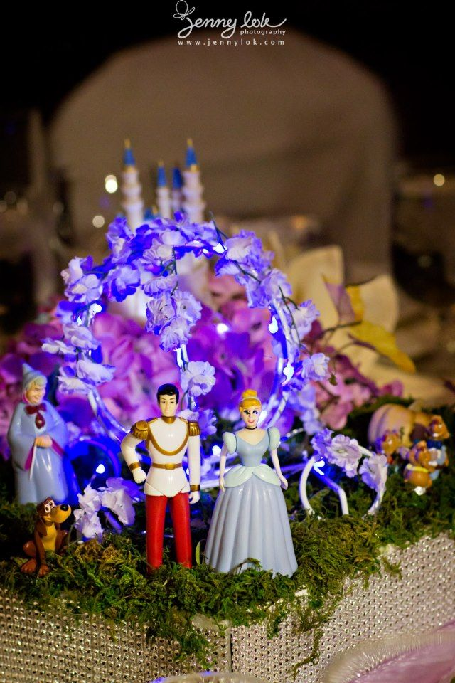 Disney Theme Wedding Fairy Tale Wedding Wedding Flowers And
