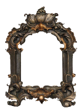 Decorative frame ; transparent background | Рамки, Винтаж ...