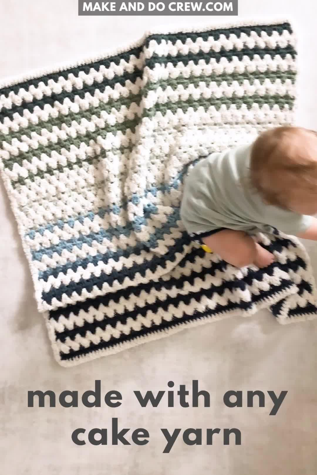 Photo of Beginner Baby Blanket – Free Easy Crochet Pattern