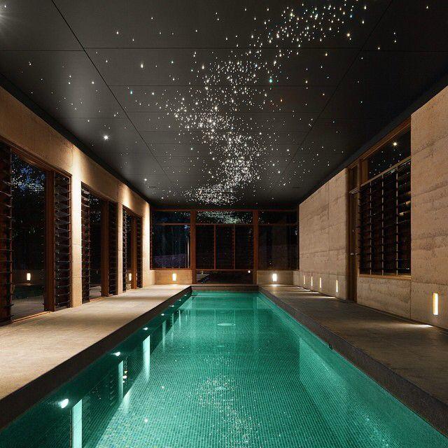 Hervorragend Glitter Ceiling + Indoor Pool Sternenhimmel, Schwimmbecken, Wohnen, Luxus  Badezimmer, Pool Im