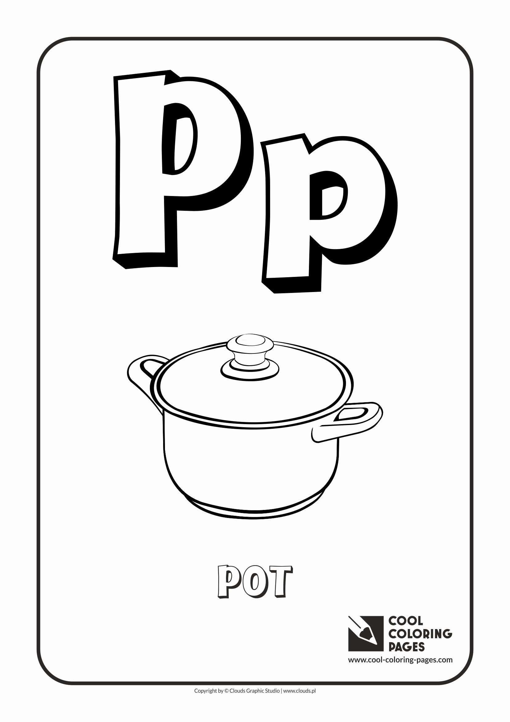 Letter P Coloring Page Lovely Cool Coloring Pages Letter P Coloring Alphabet Cool Letter A Coloring Pages Coloring Pages Coloring Pages Inspirational