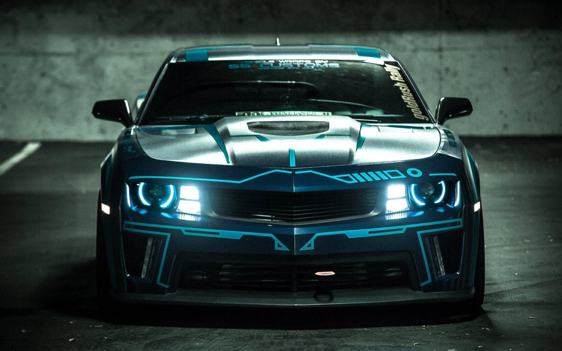 Tron chevy camaro by team turbo legacy funky rides cycles vehicles funk gumbo radio