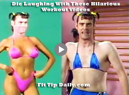 Tbt Cry Laughing With These Old Workout Videos Fit Tip Daily Workout Videos Workout Gym Humor