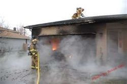 Attached Garage Fire Hazards #FireSafety