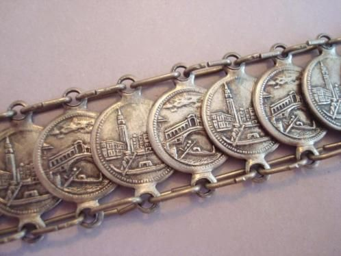 verkopers.marktplaats.nl/7443487 #Vintage 30s 60s #Venetië #Italië muntjes #munt #armband #bohemian