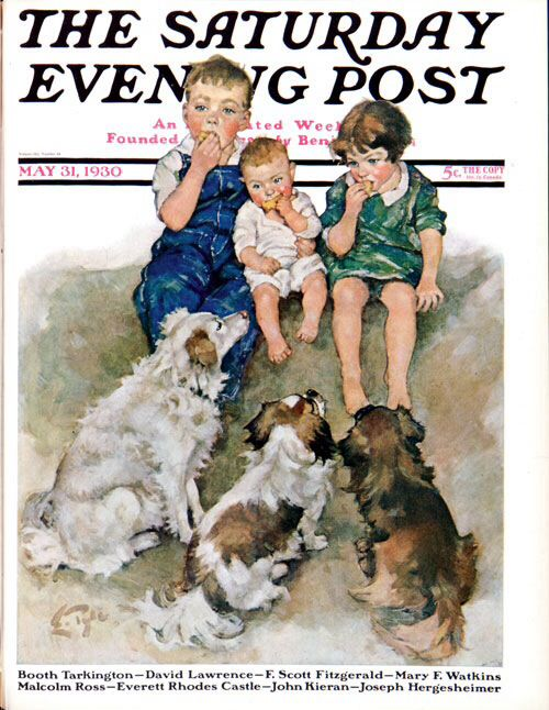 Doggie Beggars. The Saturday Evening Post, May 31, 1930