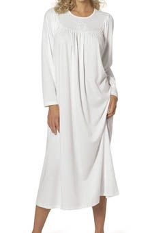 55f9402937e9 Calida Soft Cotton Long Sleeve Nightgown 33300 - Calida Sleepwear
