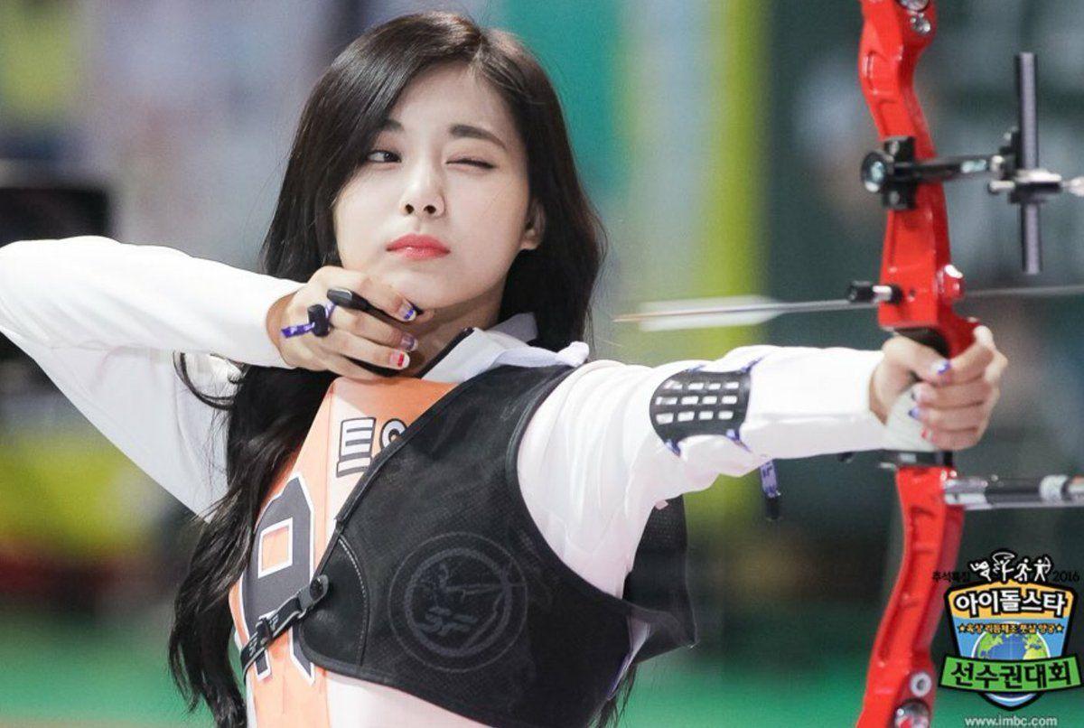 Csojqsgumaa6o P Jpg 1200 806 Archery Girl Cute Korean Girl Korean Girl