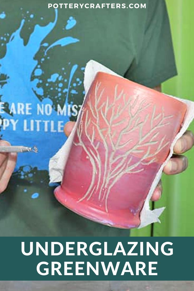 Underglazing Dry Greenware
