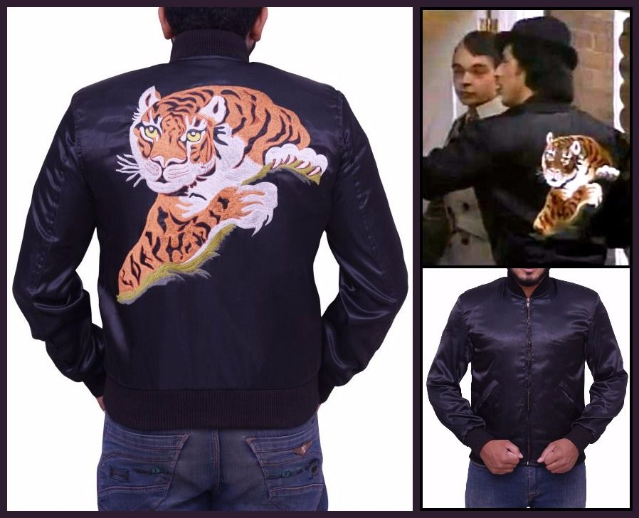 Rocky 2 Sylvester Stallone Tiger Jacket Rocky Pinterest