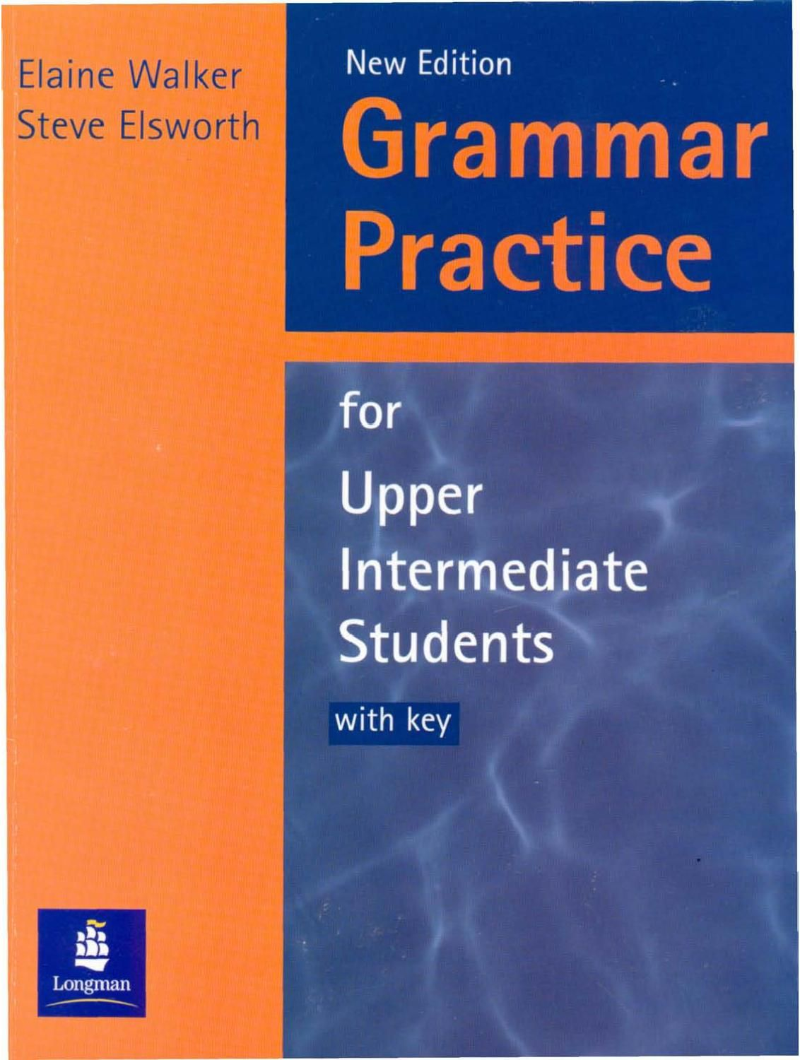 Upper Intermediate Grammar Book