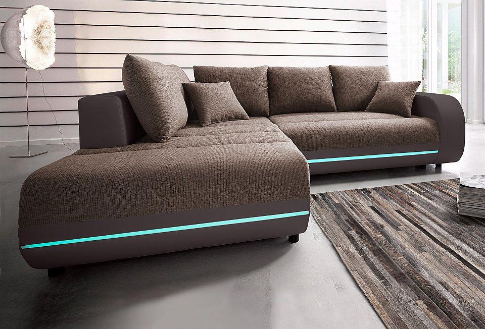 Polsterecke, inklusive RGB-LED-Beleuchtung Jetzt bestellen unter