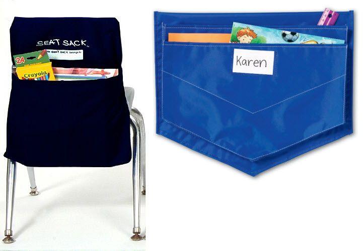 Seat sacks chair pockets WhereIBuyIt organization Pinterest