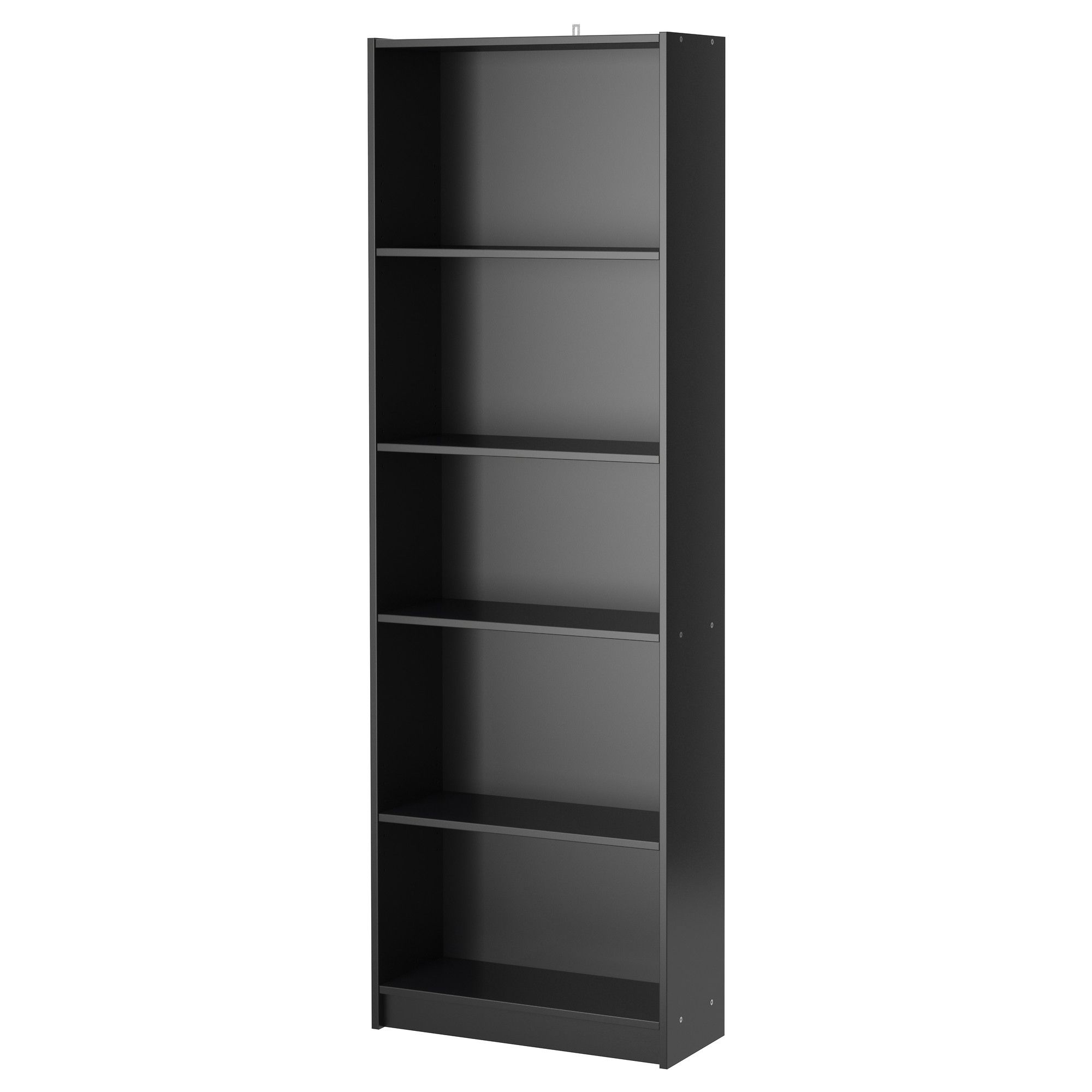 finnby bookcase black 60x180 cm apartments black bookshelf and