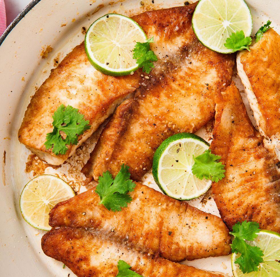 Pan Fried Tilapia Recipe Easy Healthy Recipes Easy Dinner Recipes Seafood Recipes