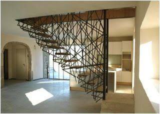 Bloggang.com : phi - สร้างบ้าน Loft ตอนที่ 15 -ราวบันไดรังนก งานเหล็ก