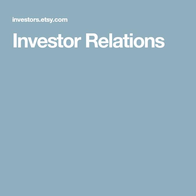 Investor Relations Investor Relations Relatable Investors