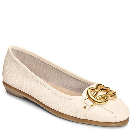High Bet Buckle Ballet Flat | Women's All Wide Shoes Wide Widths | Aerosoles