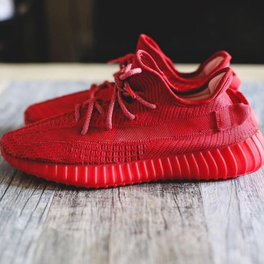 Red October Yeezy Boost 350 V2 Customs | S H O E S in 2019