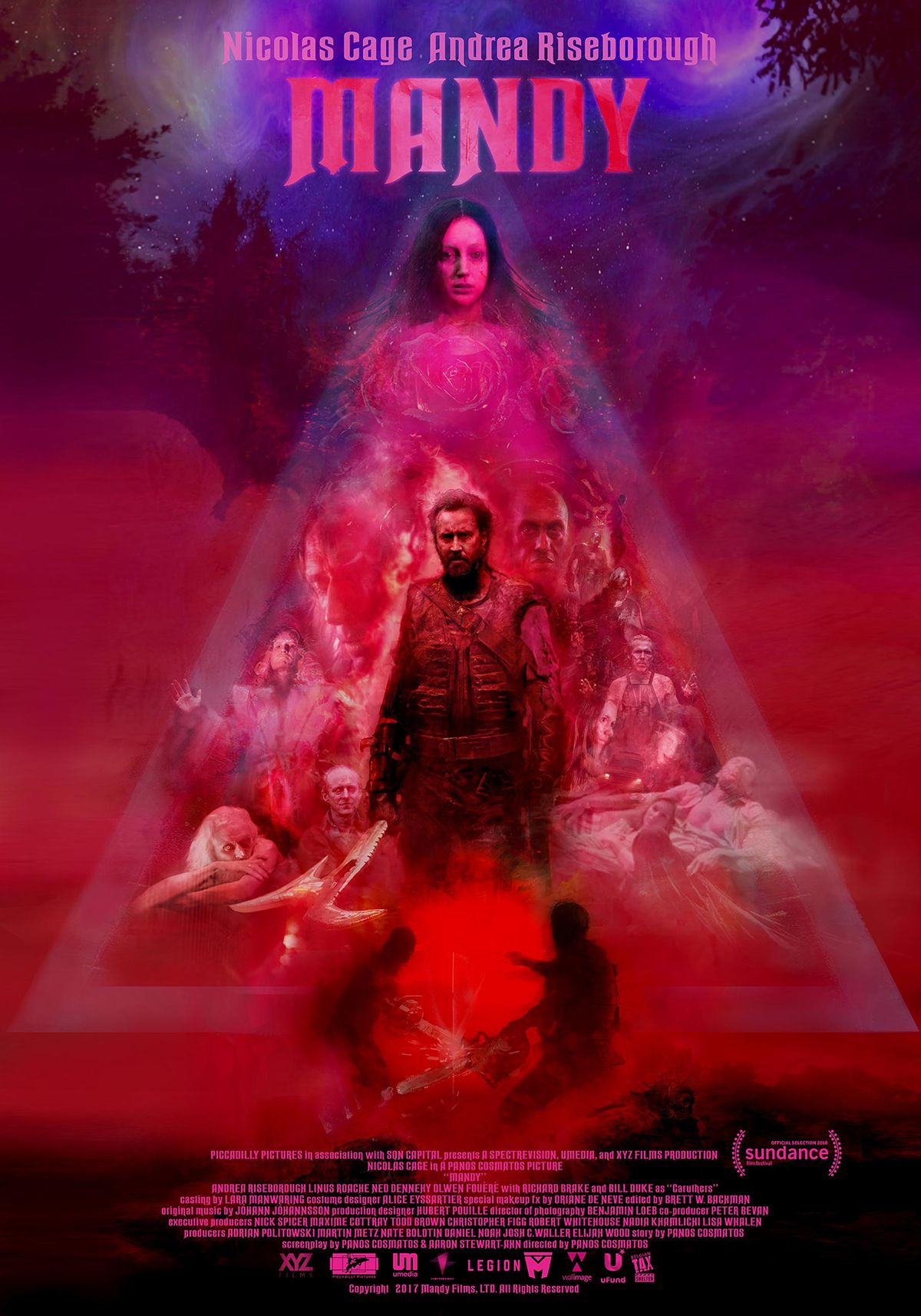 Mandy 2018 M 18 2h 1min Action Horror Thriller 27 September 2018 Portugal Full Movies Movies Online Streaming Movies Online