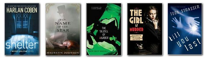 The YA winner and nominees of the 2012 Edgar Mystery Awards