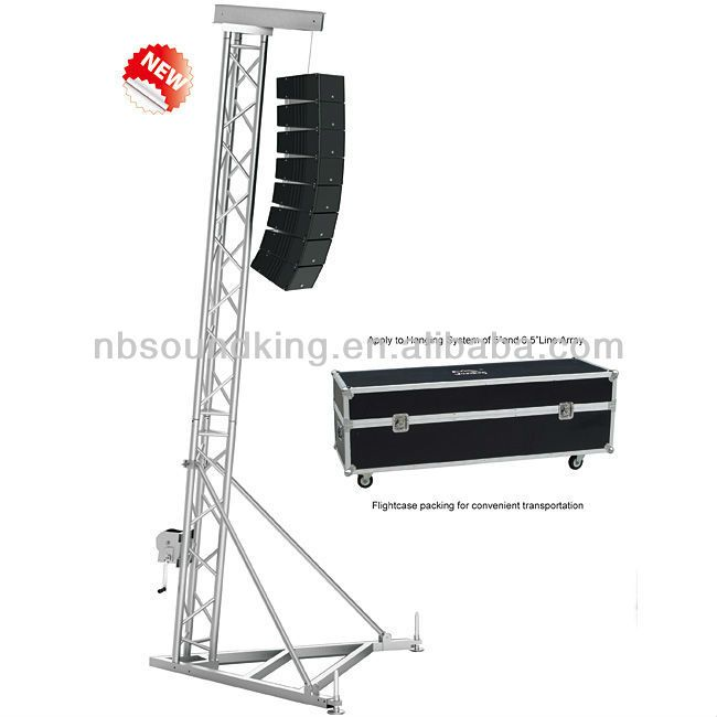 Professional Line Array Speaker Truss Stand Dna026 Live Sound System Speaker Design Audio System
