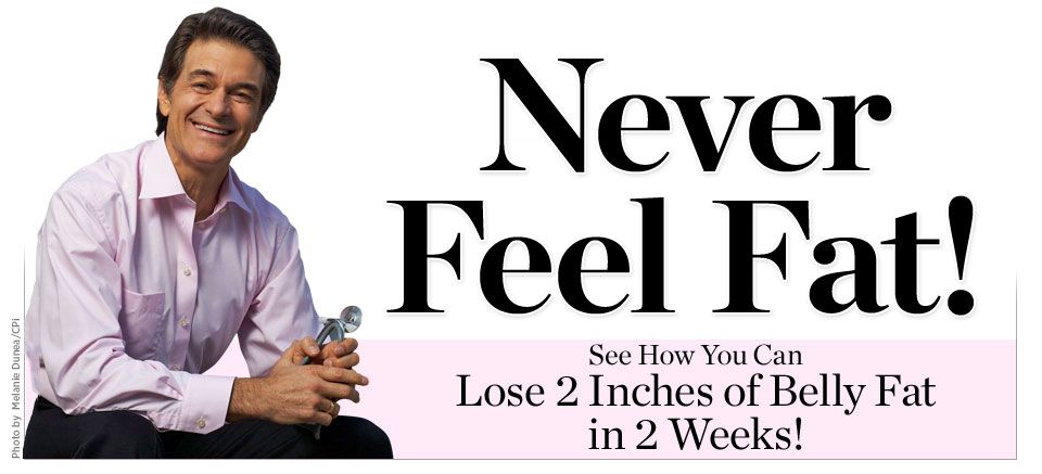 Never Feel Fat! See How You Can Lose 2 Inches of Belly Fat in 2 Weeks!