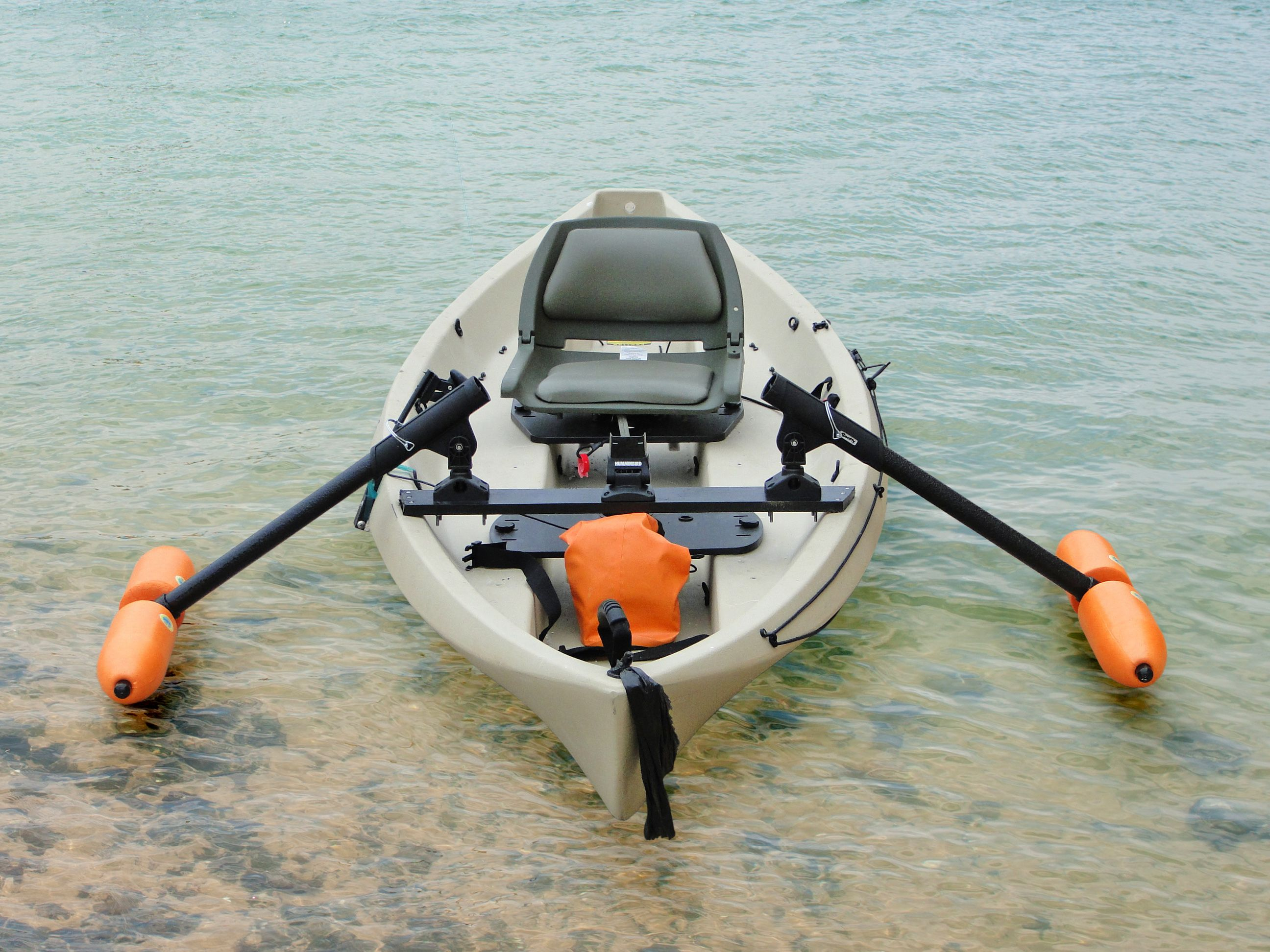 How do you like this canoe rigging set up yak gear for How to kayak fish