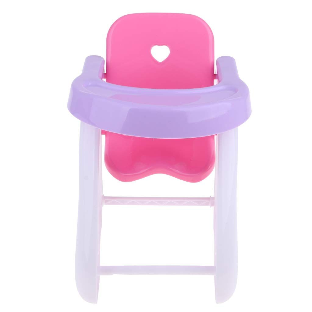 Dynwave Baby Doll High Chair Fits Mellchan And 8 12 Inch Reborn