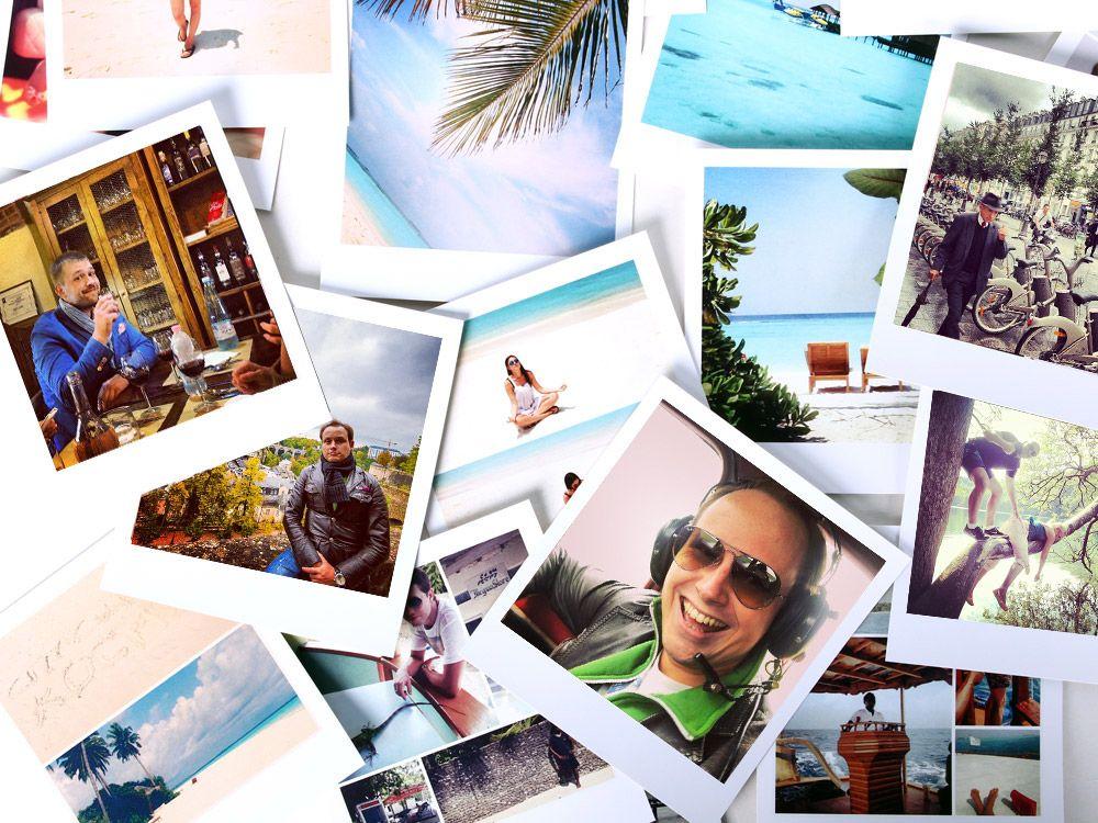 Фотокарточки в стиле Polaroid | Фотографии, Цифровая ...