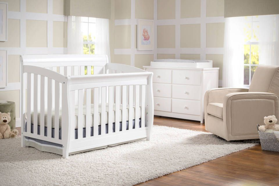 Delta Children Clermont 4 In 1 Convertible Crib
