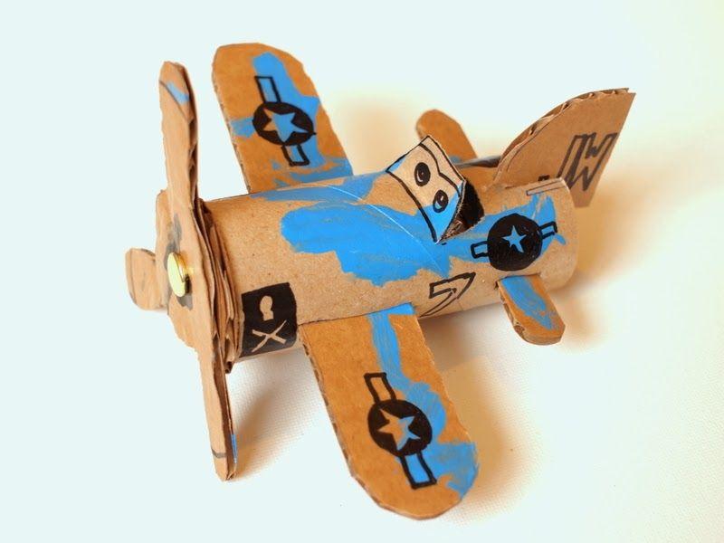 Bricoler des avions avec les enfants patron gratuit for Carton pour demenagement gratuit