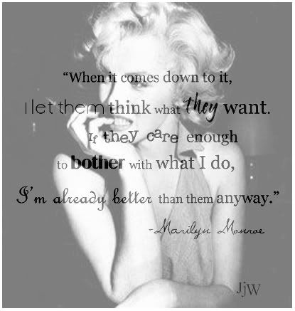 love me some marilyn quotes