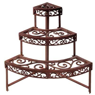 Pin By Osprey Antiques On Garden Gifts Plant Shelves Planter Stand Garden Plant Stand