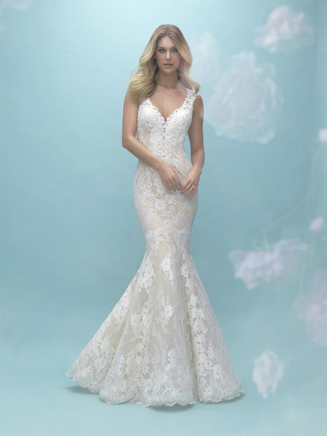 Pin by Carrie Johnson Bridal on Allure Wedding Dresses   Pinterest ...