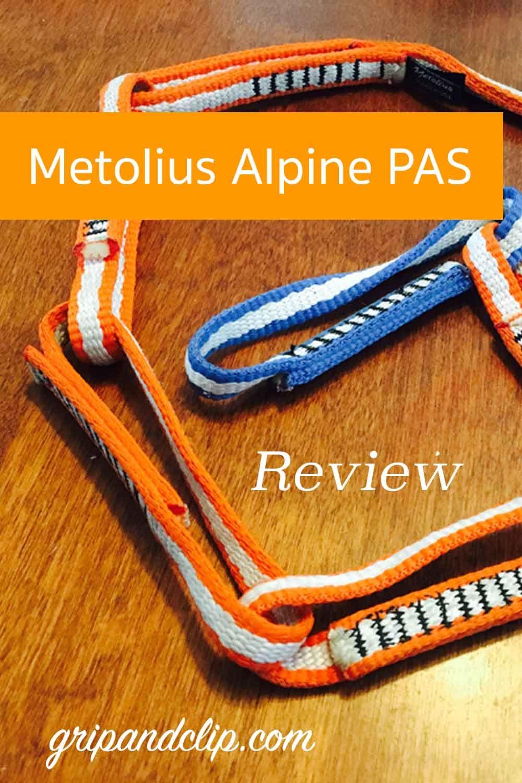 Metolius Alpine Pas Review Reviews Alpine Rock Climbing Gear