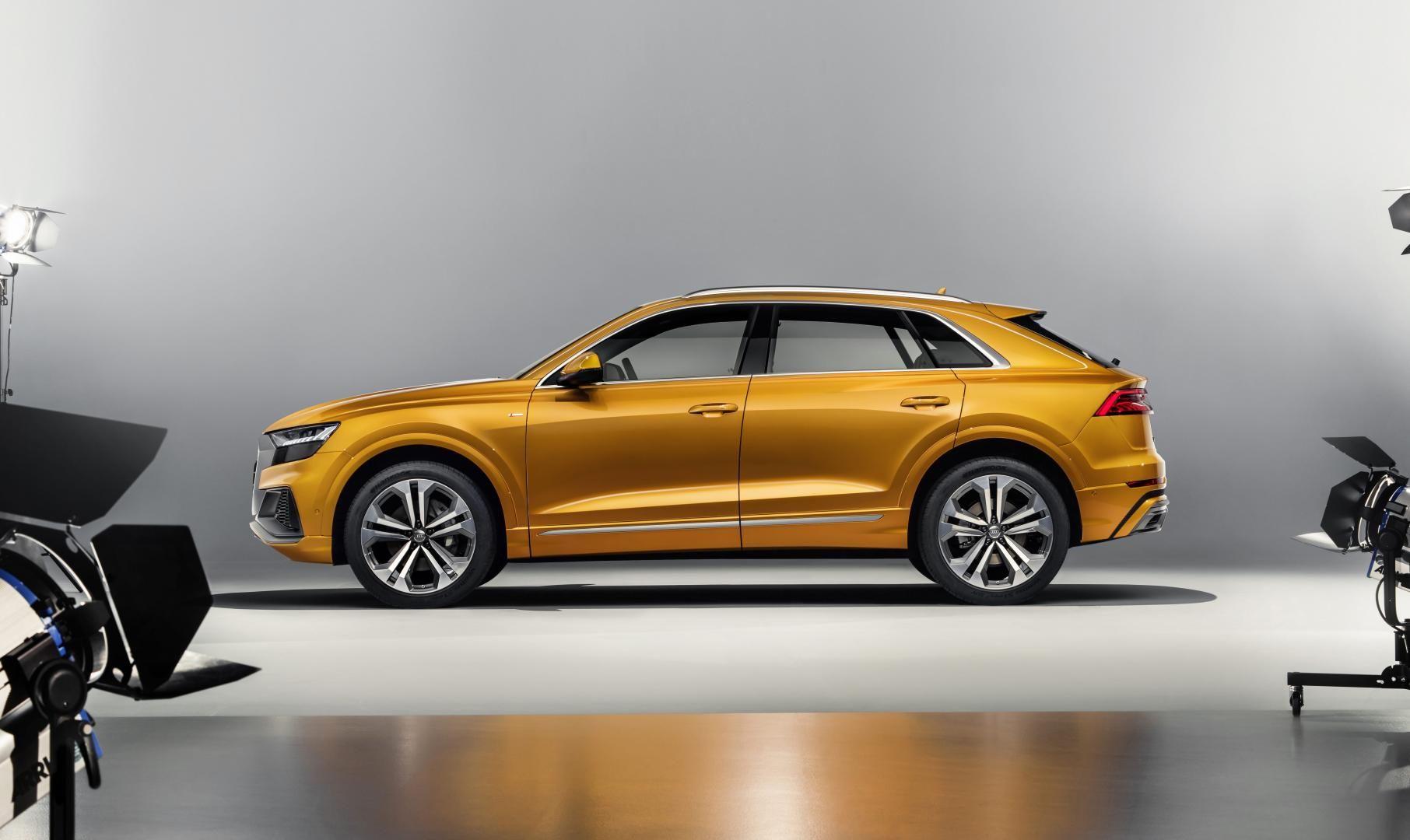 Dit Is De Gloednieuwe Audi Q8 Vanuit Alle Hoeken Audi