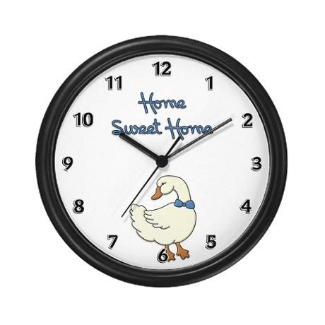 Home Sweet Home Wall Clock because that's where there is always time for family
