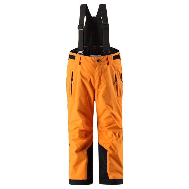Брюки Reimatec® Wingon Полностью водонепроницаемый материал и швы делают эти брюки прекрасным выбором для активного времяпровождения на воздухе. Съемные подтяжки и регулируемая талия добавляют комфорт, а защита от снега в нижней части брючин не пропускает снег и влагу при любой погоде.