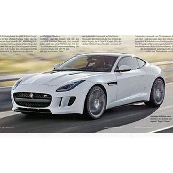 Jaguar F-Type Coupe leaks before LA Auto Show reveal ❤ liked on Polyvore