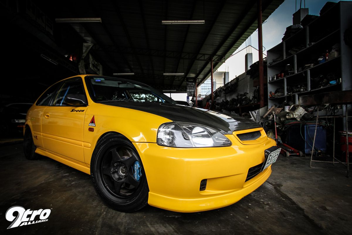 Spoon honda civic ek9 car pinterest honda civic for Honda civic ek9