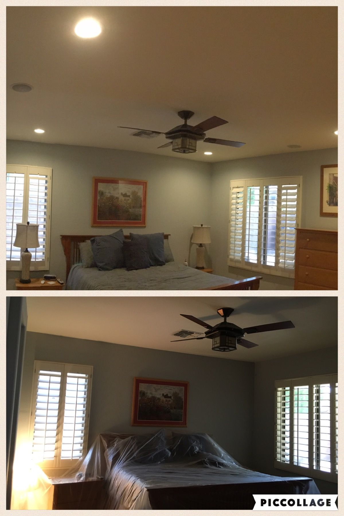 Az Recessed Lighting Installation Of New Led Lights With A Dimmer