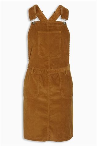 cf01ca7e3e4 Buy Tan Cord Pinafore Dress from the Next UK online shop