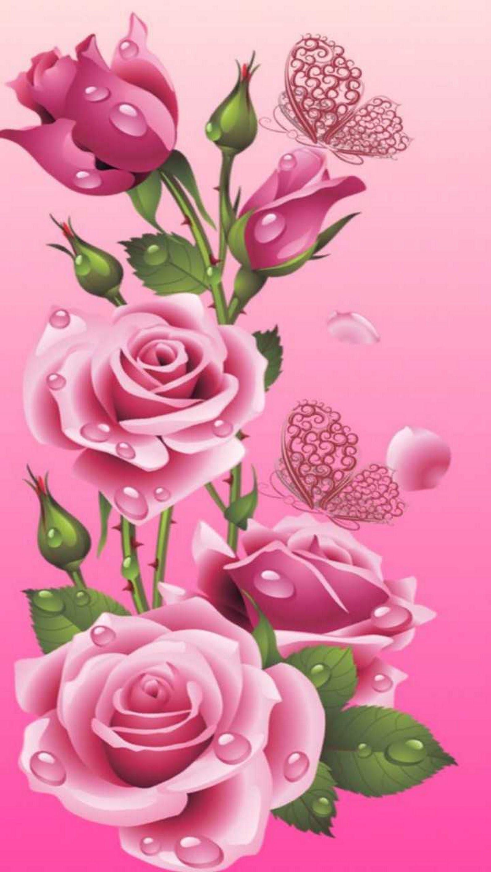 Maily Senillo Flower Iphone Wallpaper Flower Art Flower Drawing