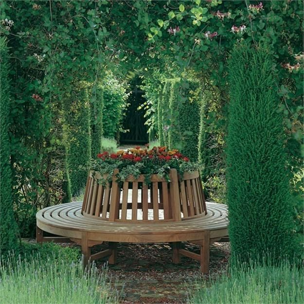 Pleasing 20 Creative Garden Benches Inspiring New Ideas For Garden Ocoug Best Dining Table And Chair Ideas Images Ocougorg